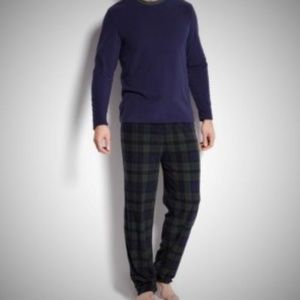 Club Room Pants - Mens Pajama Set 2 Piece Club Room Fleece Sleepwear